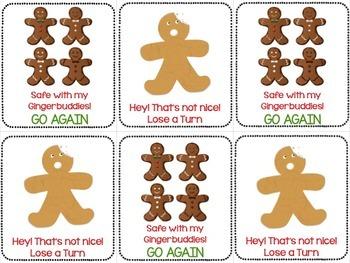 Gingerbread Man Activities SHORT VOWEL GAME