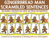 The Gingerbread Man Scrambled Sentences
