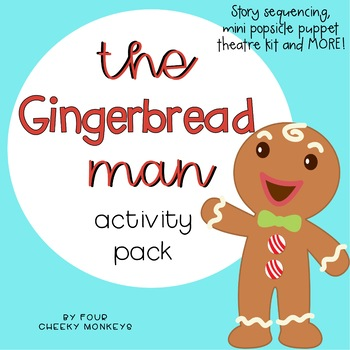 The Gingerbread Man Sequencing Activities