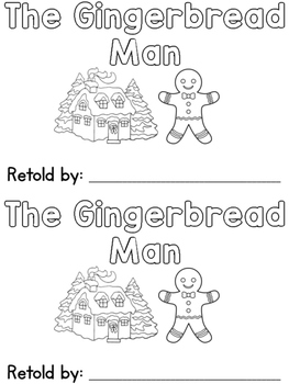The Gingerbread Man Sight Word Book