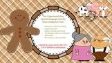 The Gingerbread Man Speech/Language Book Companion/Activity Pack