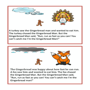 The Gingerbread Man Story & Activity