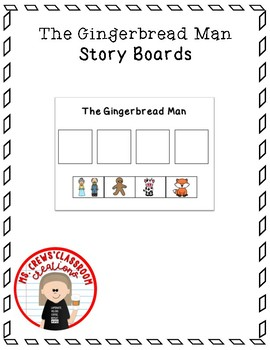 The Gingerbread Man Story Boards