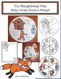 The Gingerbread Man: Story Wheel, Puzzle & Prompt
