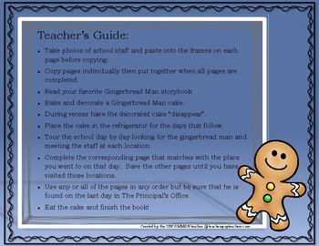 The Gingerbread Man Campus Tour