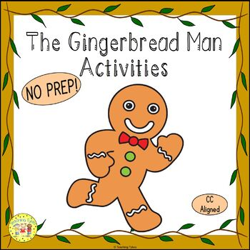 The Gingerbread Man Fairy Tales  Worksheets Activities Games Printables and More