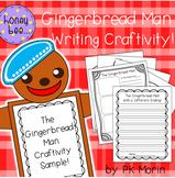 The Gingerbread Man Writing Craftivity
