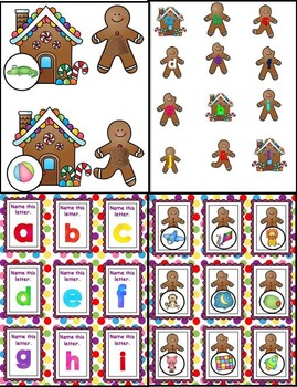 The Gingerbread Man and Some ABC Fun