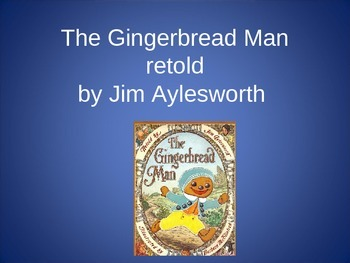 The Gingerbread Man by Aylesworth, Collaborative Conversations Text Talk