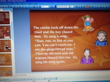 The Gingerbread Man by Karen Schmidt -Retelling Comprehension PowerPoint