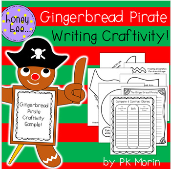 The Gingerbread Pirate Writing Craftivity