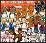 The Gingerbread Story Clip Art {Educlips Clipart}