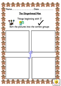 The Gingerbreadman Story Resources