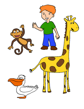 The Giraffe and the Pelly and Me Comprehensive Project