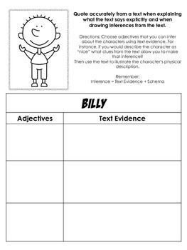 The Giraffe, and the Pelly, and Me: Text Dependent Questions & Novel Activities