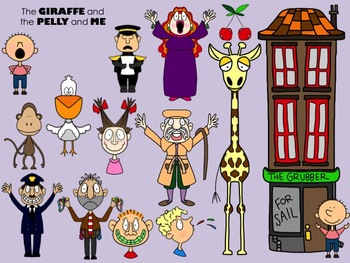 The Giraffe, the Pelly, and Me Clip Art
