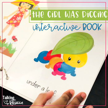 Spring Garden Interactive Vocabulary Book