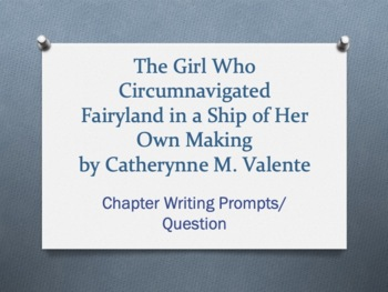 The Girl Who Circumnavigated Fairyland in a Ship of Her Own Making PACKET