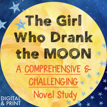 The Girl Who Drank the Moon Novel Study: Assessments, Vocab. Figurative Language
