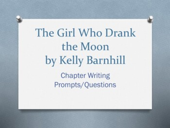 The Girl Who Drank the Moon, by Kelly Barnhill. Chapter Qu