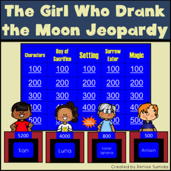 The Girl Who Drank the Moon by Kelly Barnhill Jeopardy