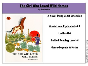 The Girl Who Loved Wild Hor... by Unconquered Learning | Teachers ...