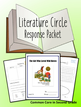 The Girl Who Loved Wild Horses Literature Circle Response Packet- Book Club!
