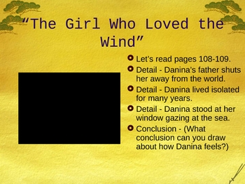 The Girl Who Loved the Wind - Drawing Conclusions