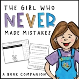 The Girl Who Never Made Mistakes Book Companion Activities