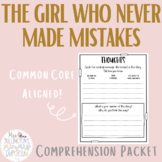 The Girl Who Never Made Mistakes Comprehension Questions