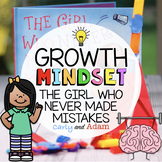 The Girl Who Never Made Mistakes Growth Mindset STEM Activity