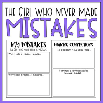 The Girl Who Never Made Mistakes / Read Aloud Book Companion