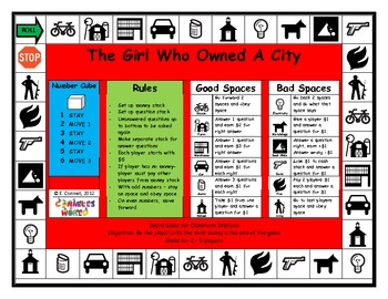 The Girl Who Owned A City Board Game