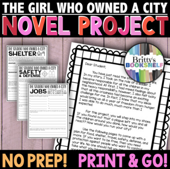 The Girl Who Owned a City - Novel Project