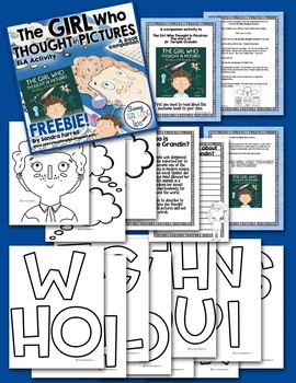 The Girl Who Thought In Pictures - ELA Activity Freebie