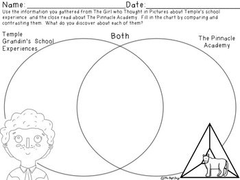 The Girl Who Thought in Pictures:  A Compare and Contrast Book Study