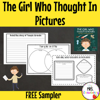 The Girl Who Thought in Pictures Activity Sampler
