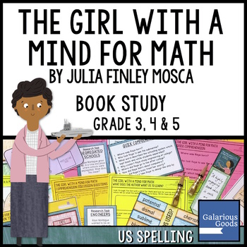 The Girl With a Mind for Math by Julia Finley Mosca - Picture Book Study