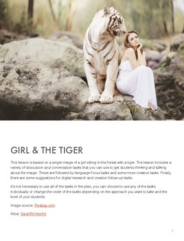 The Girl and the Tiger - Lesson Plan