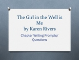 The Girl in the Well is Me, by Karen Rivers - Chapter Ques