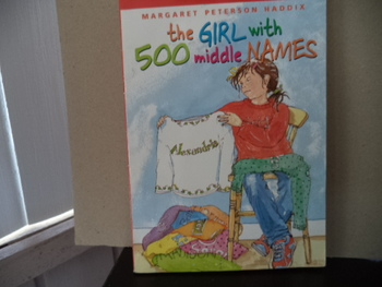 The Girl with 500 Middle Names ISBN 0-439-81376X