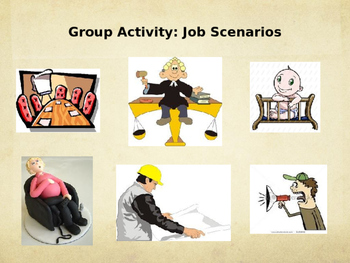 The Giver PowerPoint with Scenario Activity