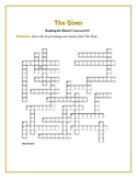 The Giver: 2 Reading-for-Detail Crosswords—Fun Objective Review!