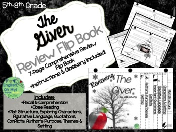 The Giver-Reviewing Characters, Plot, Conflicts-{Creativity}