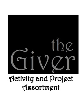The Giver: Activity and Project Assortment - 24 Activities, 3 Projects