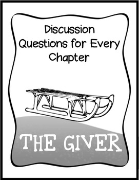 Short essay questions for the giver