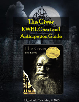 The Giver Anticipation Guide and KWHL Chart