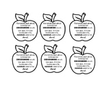 The Giver Apple Bookmarks