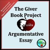 The Giver-  Argumentative Essay