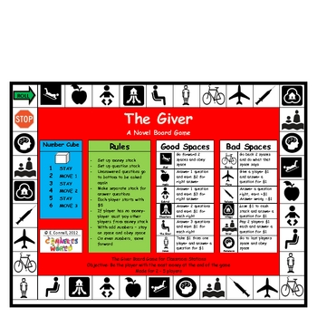 The Giver Board Game
